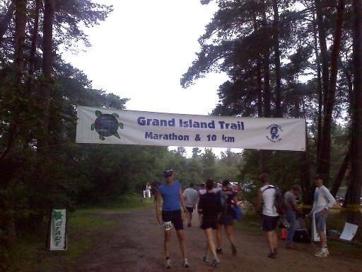 Grand Island Start Banner